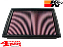 Sport Air Filter K&N Cherokee KK year 08-12 3,7 L 6 Cyl. + 2,8 L CRD