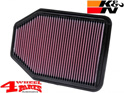 Sport Air Filter K&N Wrangler JK year 07-18 3,6 L + 3,8 L