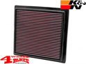 Sport Air Filter K&N Grand Cherokee WL + WK2 11-20 3,6 + 5,7 + 6,4 L