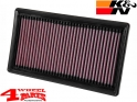 Sport Air Filter K&N Renegade BU with 1,0 T-GDI year 18-20