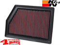 Sport Air Filter K&N Cherokee KL 14-18 2,4 + 3,2 + 2,0 + 2,2 L CRD