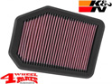 Sport Air Filter K&N Wrangler JK year 07-18 with 2,8 L CRD