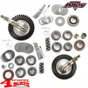 Ring & Pinion Kit Differential Front + Rear Dana 30/35 4.10 TJ 97-06