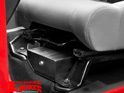 Locking Under Driver Seat Storage Box Wrangler JK year 07-10