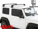 Overhead Rhino Rack Kit + Vortex Bars Jimny GJ year 10.18-