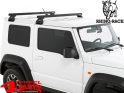 Overhead Rhino Rack Kit + Heavy Duty Bars Jimny GJ year 10.18-
