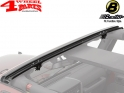 Windshield Channel Header Aluminum Wrangler JK year 07-18