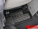 Floor Liner Set Rear Bestop Jeep Wrangler JK year 07-10 2-doors