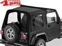 Supertop Sunrider Black Diamond Wrangler TJ year 03-06