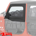 Front Upper Doors Element Doors Black Diamond JK year 07-18