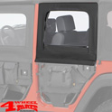 Rear Upper Doors Element Doors Black Diamond JK 07-18 4-doors