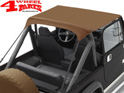 Bikini Top Traditional Tan Denim Bestop CJ7 + Wrangler YJ year 76-91