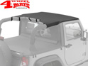 Header Bikini Top Black Diamond Wrangler JK year 07-09 2-doors