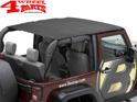 Safari Header Bikini Top Black Diamond Wrangler JK year 10-18 2-doors