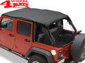 Safari Header Bikini Top Black Diamond Wrangler JK year 10-18 4-doors