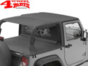 Safari Header Bikini Top Black Diamond Wrangler JK year 07-09 2-doors