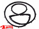 Hardtop Liftgate Outer Glass Seal Jeep CJ year 77-86