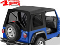 Supertop Black Diamond tinted Wrangler TJ year 97-06