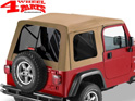 Supertop Spice Denim tinted Jeep Wrangler TJ year 97-06