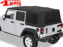 Supertop Black Diamond Jeep Wrangler JK year 07-18 4-doors
