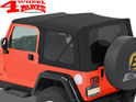 Supertop NX Black Denim Jeep Wrangler TJ year 97-06