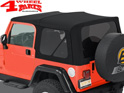 Supertop NX Black Diamond Jeep Wrangler TJ year 97-06