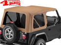 Supertop NX Spice Denim Jeep Wrangler TJ year 97-06