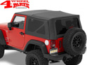 Supertop NX Black Diamond Jeep Wrangler JK year 07-18 2-doors