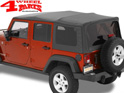 Supertop NX Black Diamond Wrangler JK year 07-18 4-doors