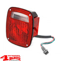 Tail Light US Style Right with Side Marker Lens Wrangler TJ year 98-06