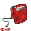 Tail Light US Style Left with Side Marker Lens Wrangler YJ TJ year 98-06