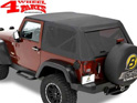 Trektop Bestop Black Diamond Jeep Wrangler JK year 07-18 2-doors