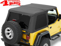 Trektop NX Bestop Black Denim Jeep Wrangler TJ year 97-06