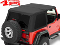 Trektop NX Bestop Black Diamond Jeep Wrangler TJ year 97-06