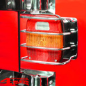 Tail Light Guards Stainless Steel CJ + Wrangler YJ TJ 76-06 EU Model