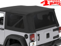 Tinted Window Kit OEM Top Black Diamond Wrangler JK 11-18 2-doors