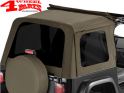 Tinted Window Kit Sunrider Khaki Diamond Wrangler TJ year 97-06