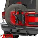 Tire Carrier Heavy Duty HighRock 4X4 Wrangler JK year 07-18