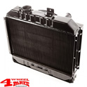 Radiator with Fan Shroud CJ + Willys year 41-52 with L-134cui