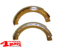 Emergency Parking Brake Shoes Jeep CJ + Willys year 43-71