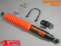 Steering Stabilizer Heavy Duty for Standard or Suspension incl. Mounting Bracket Toyota Landcruiser BJ/FJ 40 + 42 year 75-86