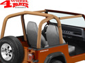 Roll Bar Sport Cover Spice Denim Bestop Wrangler YJ year 92-95