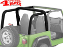 Roll Bar Sport Cover Black Denim Bestop Wrangler TJ year 97-02