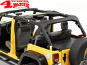Roll Bar Sport Cover Black Diamond Bestop Wrangler JK year 07-18 4-doors