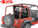 Windjammer Black Diamond Bestop Wrangler TJ year 03-06
