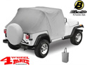 Trail Cover from Bestop Charcoal Jeep CJ + Wrangler YJ year 76-91