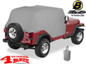 Trail Cover from Bestop Charcoal Jeep Wrangler YJ year 92-95