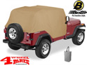 Trail Cover from Bestop Spice Jeep Wrangler YJ year 92-95