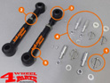 Sway Bar End Links Front for +75-125mm Lift TJ + XJ + ZJ 84-06