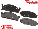 Brake Pad Set Front from Raybestos Jeep CJ year 78-81